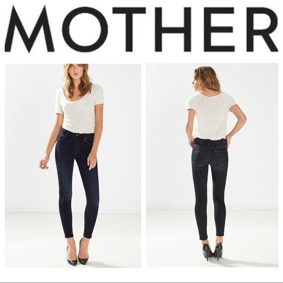 7fbc6dc958a7 MOTHER Jeans | Highwaisted Looker In Coffee Tea Or Me | Poshmark